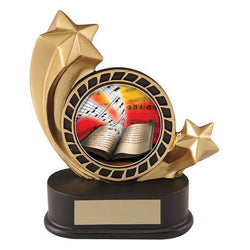 shooting star insert holder resin trophy-D&G Trophies Inc.-D and G Trophies Inc.