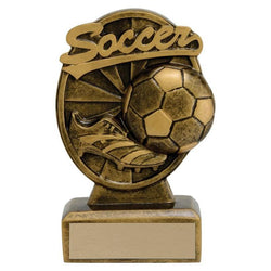 signature soccer resin trophy-D&G Trophies Inc.-D and G Trophies Inc.