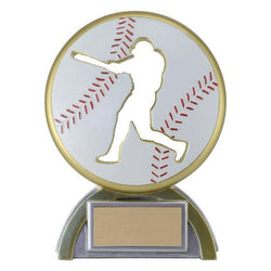 silhouette baseball resin trophy-D&G Trophies Inc.-D and G Trophies Inc.