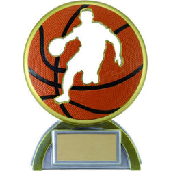 silhouette basketball resin trophy-D&G Trophies Inc.-D and G Trophies Inc.