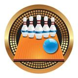 "Spectrum Insert, 5-Pin Bowling 2""-D&G Trophies Inc.-D and G Trophies Inc."