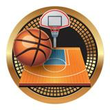 "Spectrum Insert, Basketball 2""-D&G Trophies Inc.-D and G Trophies Inc."