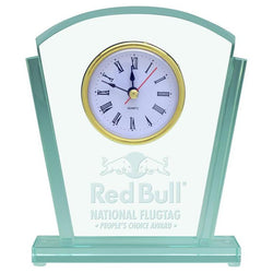 springbrook glass clock giftware-D&G Trophies Inc.-D and G Trophies Inc.