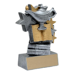 star blast knowledge academic resin-D&G Trophies Inc.-D and G Trophies Inc.