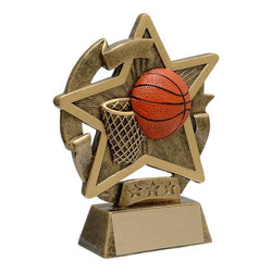 star gazer basketball resin trophy-D&G Trophies Inc.-D and G Trophies Inc.