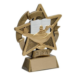 star gazer knowledge academic resin-D&G Trophies Inc.-D and G Trophies Inc.