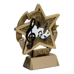 star gazer music academic resin-D&G Trophies Inc.-D and G Trophies Inc.