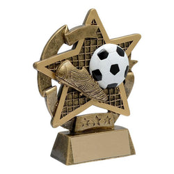 star gazer soccer resin trophy-D&G Trophies Inc.-D and G Trophies Inc.
