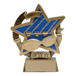 star gazer swimming distinctive resin trophy-D&G Trophies Inc.-D and G Trophies Inc.