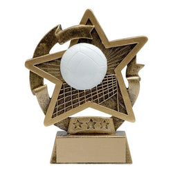 star gazer volleyball distinctive resin trophy-D&G Trophies Inc.-D and G Trophies Inc.