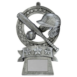 star medal baseball resin trophy-D&G Trophies Inc.-D and G Trophies Inc.
