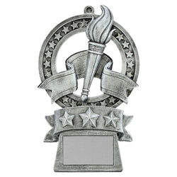 star medal victory distinctive resin trophy-D&G Trophies Inc.-D and G Trophies Inc.