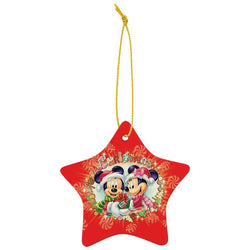 sublimated ceramic star ornament-D&G Trophies Inc.-D and G Trophies Inc.