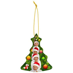 sublimated ceramic tree ornament-D&G Trophies Inc.-D and G Trophies Inc.