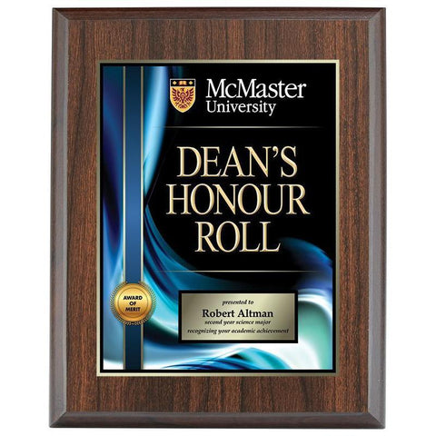 super saver prosub plaque laminate-D&G Trophies Inc.-D and G Trophies Inc.
