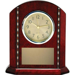 tempo rosewood clock giftware-D&G Trophies Inc.-D and G Trophies Inc.