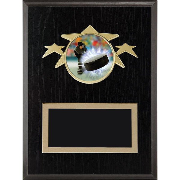 tri-star laminate plaque-D&G Trophies Inc.-D and G Trophies Inc.