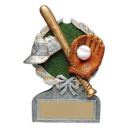 vintage wreath baseball resin trophy-D&G Trophies Inc.-D and G Trophies Inc.