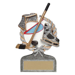 vintage wreath hockey resin trophy-D&G Trophies Inc.-D and G Trophies Inc.