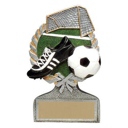 vintage wreath soccer resin trophy-D&G Trophies Inc.-D and G Trophies Inc.