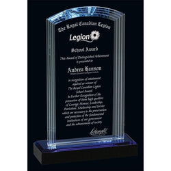 West Palm Optic Crystal Award-D&G Trophies Inc.-D and G Trophies Inc.
