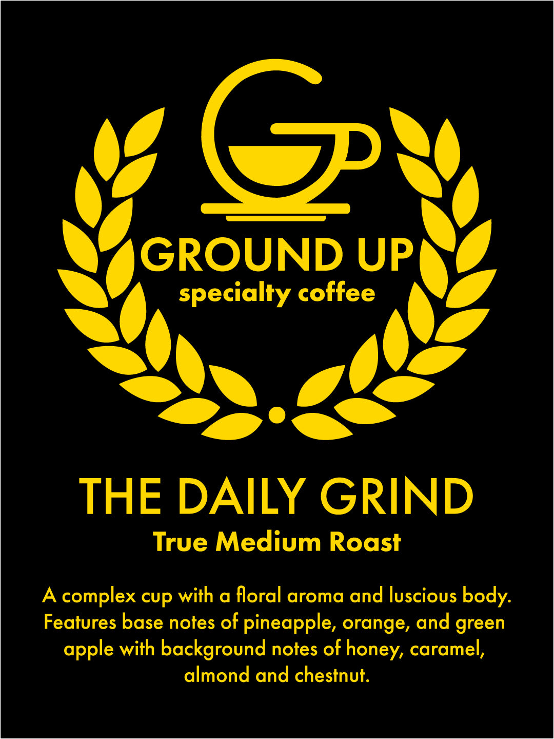The Daily Grind - True Medium Roast - Batch Brewed Coffee