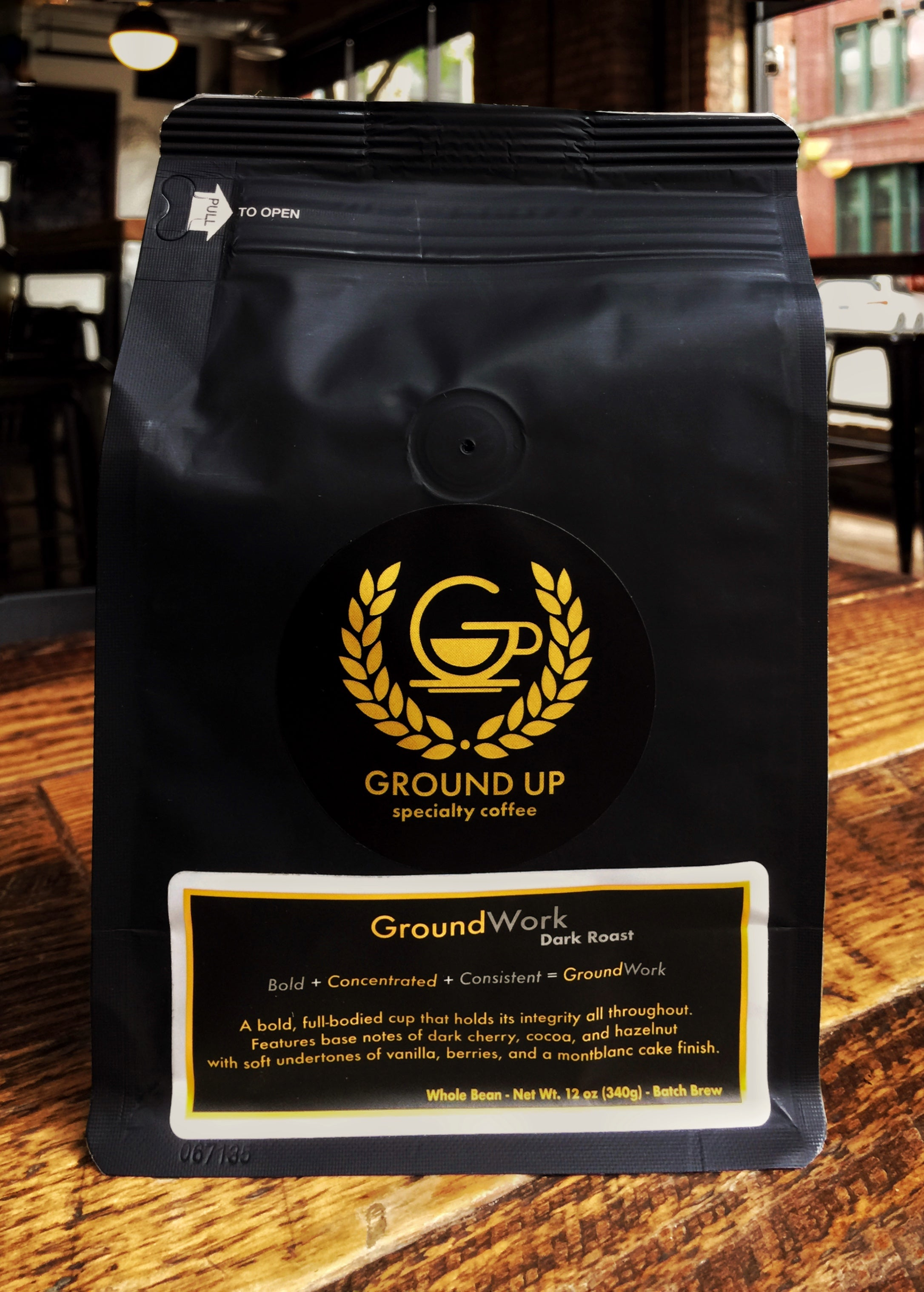 GroundWork - Dark Roast - Batch Brewed Coffee
