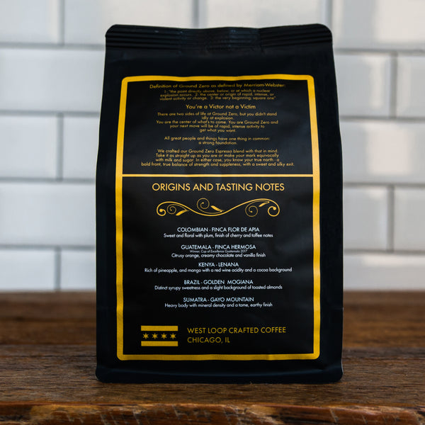 Ground Up Foundation Espresso Blend - Whole bean