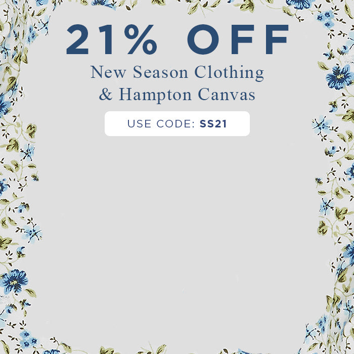 21% Off New Season Collection