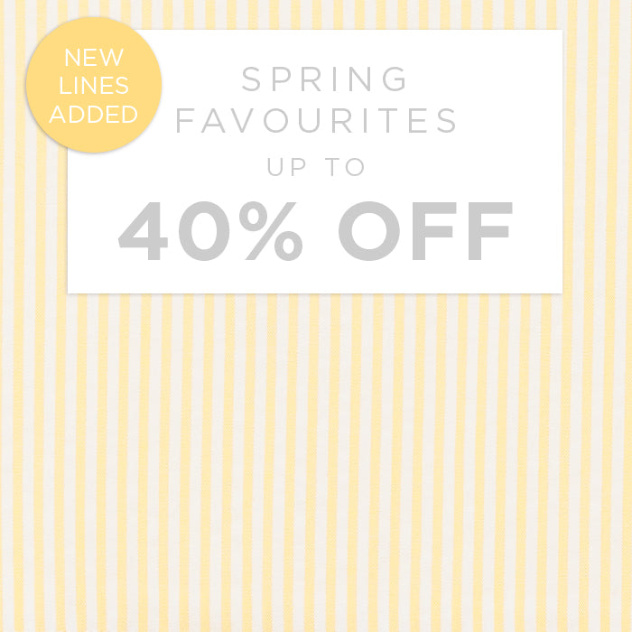 Spring Favourites - Up to 40% Off
