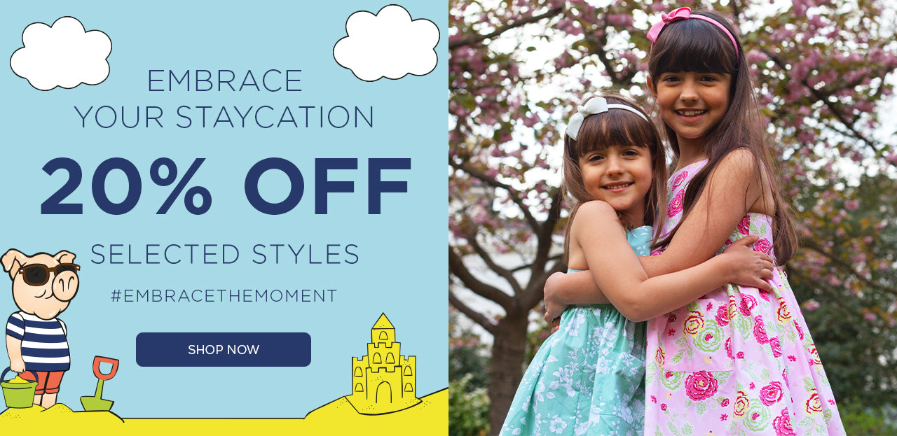 20% Off Selected Staycation Styles