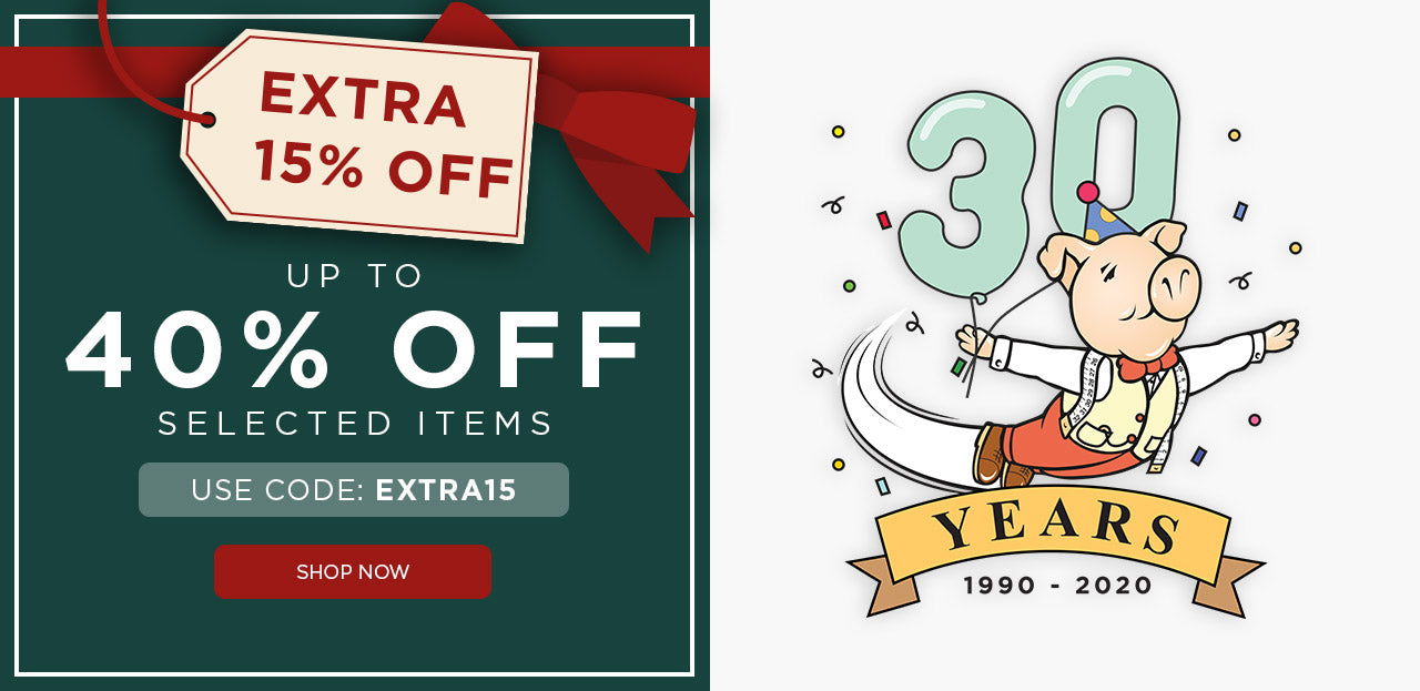 Celebrate with up to 40% off
