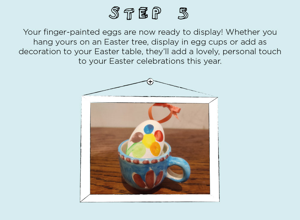 Finger Painting Easter Eggs Activity