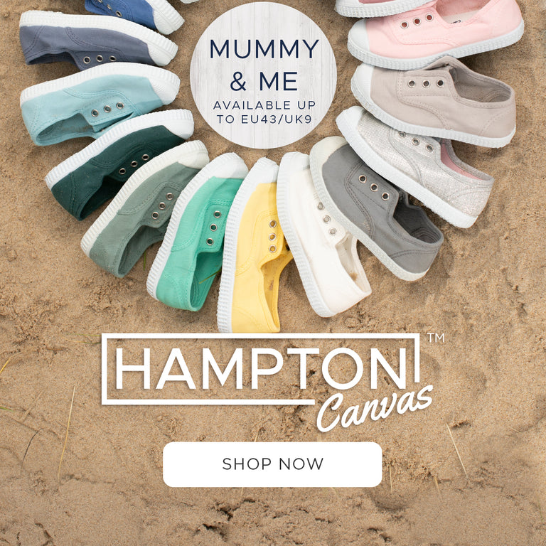 Hampton Canvas Shoes + Free UK Delivery