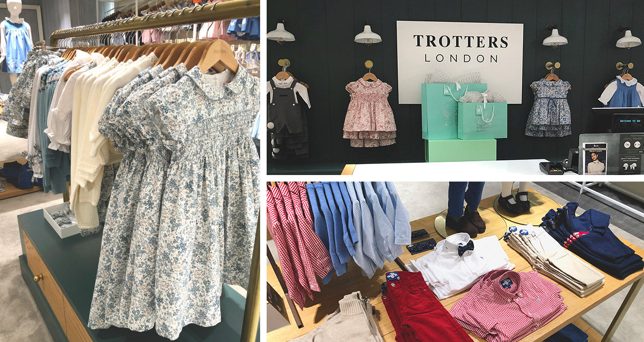 Trotters Concession in Harrods Department Store