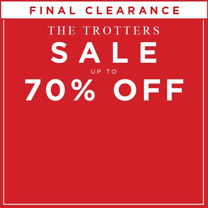 The Trotters Sale - Up to 70% Off