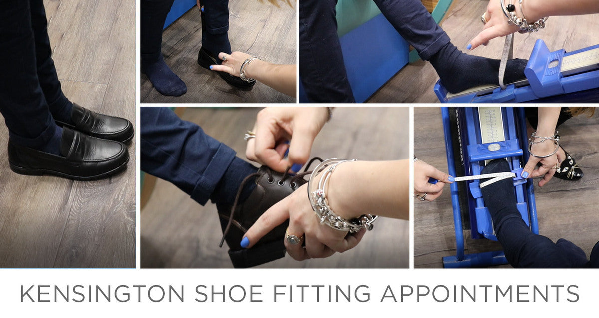 Shoe Fitting by Appointment – Online Booking
