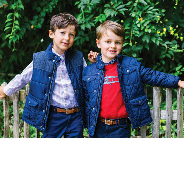 Trotters Thomas Brown Boys Warm, Classic, Waterproof Coats and Jackets