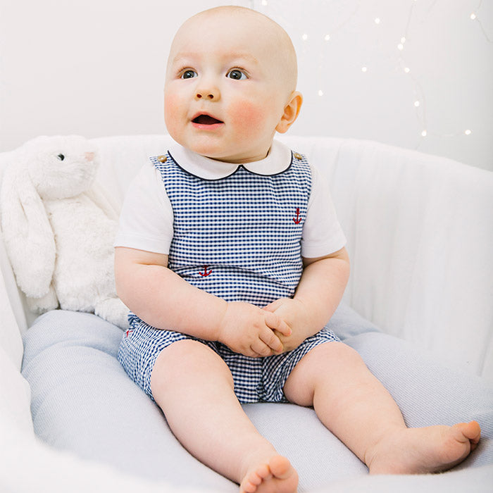 Baby Boy Rompers & Dungarees