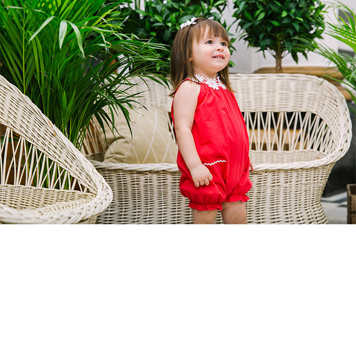 Baby Girl Rompers & Dungarees