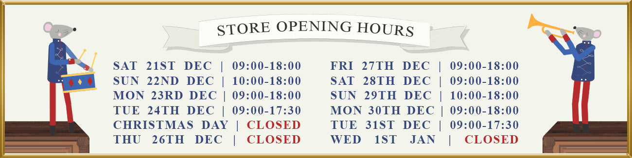 Christmas Opening Hours - Northcote Road