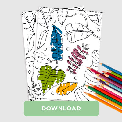 Trotters Nature Colouring In Sheet