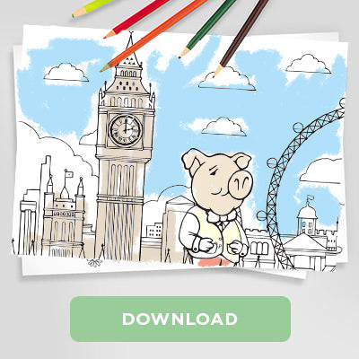 Trotters Design Your Own London Map