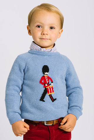 drumming guardsman jumper