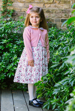 arabella smocked dress