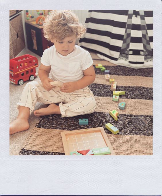 William Reviews the Tender Leaf Toys Garden Patch Puzzle