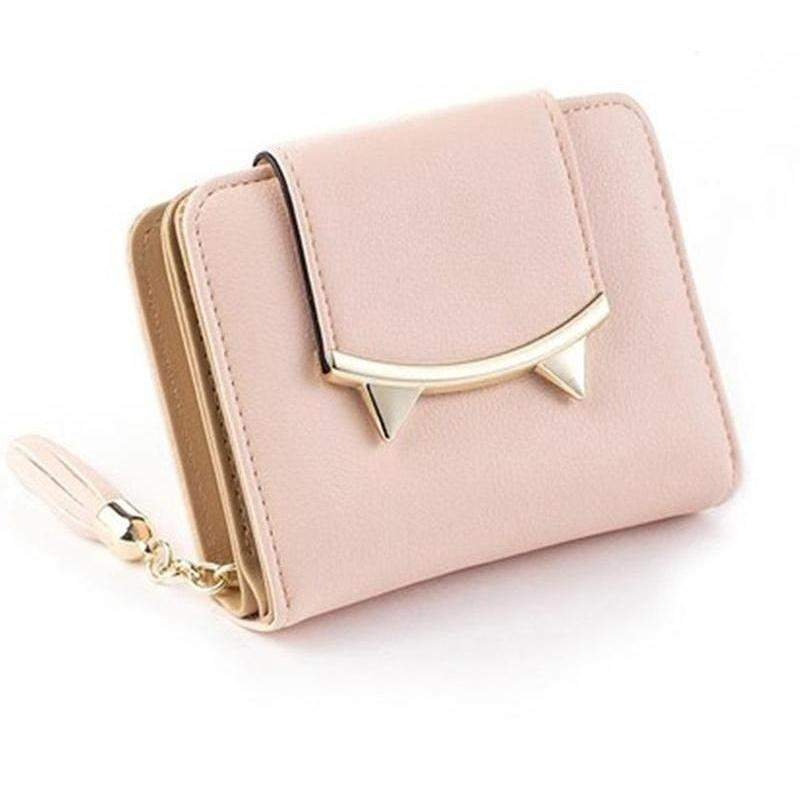 Cute Trifold Slim Women's Wallet-99Accessory-99Accessory