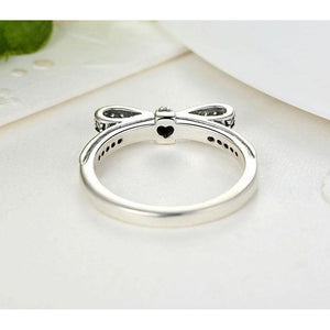 Sparkling Bow Knot Ring for Women-99Accessory-99Accessory