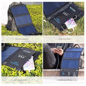20W Solar Charging Power Bank, Universal-99Accessory-99Accessory