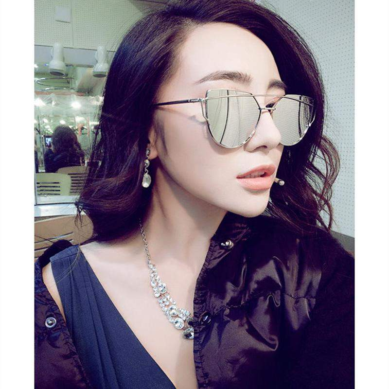 Flat Mirror Women Sunglasses-99Accessory-99Accessory